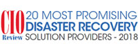 20 Most Promising Disaster Recovery Solution Providers - 2018